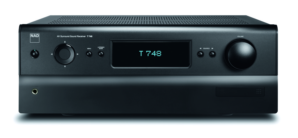 NAD_T748_Front_graphite