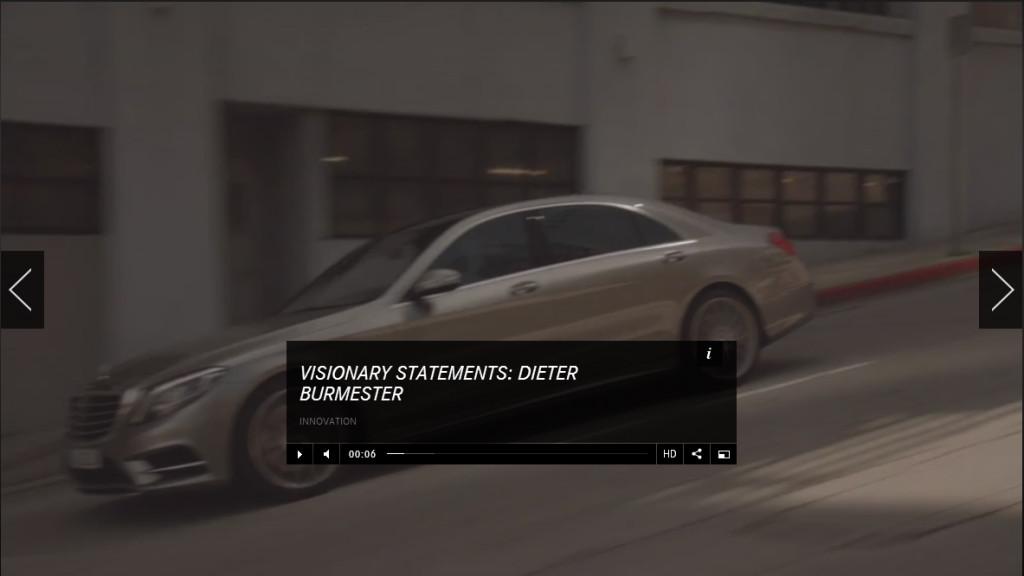 Burmester und Mercedes-Benz - Dieter Burmester im Interview